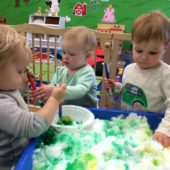 The Farm Room – Toddler Classroom (1 – 2 years)