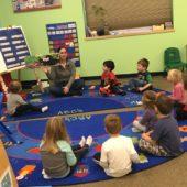 The Town Room – Preschooler Classroom (4 – 5 years)
